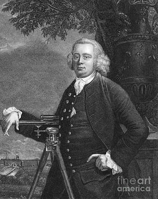 1772 Photograph - James Brindley, English Engineer by Science Source