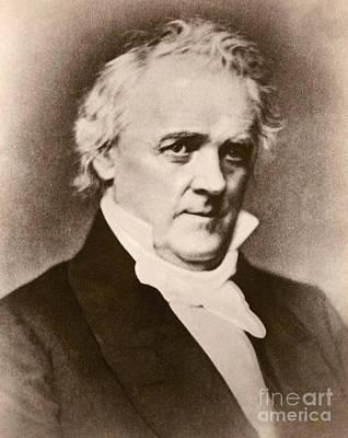 James Buchanan, 15th American President Art Print
