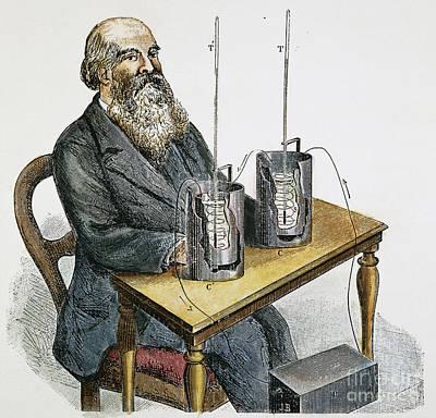 James P. Joule (1818-1889) Art Print