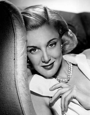 Jan Sterling Photograph - Jan Sterling, 1950s by Everett