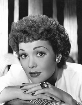 Thin Eyebrows Photograph - Jane Wyman, Warner Brothers, 1940s by Everett