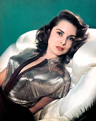 Janet Leigh, 1940s Print by Everett