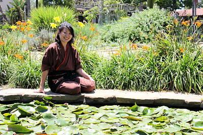 Food And Flowers Still Life - Japanese Women by Henrik Lehnerer