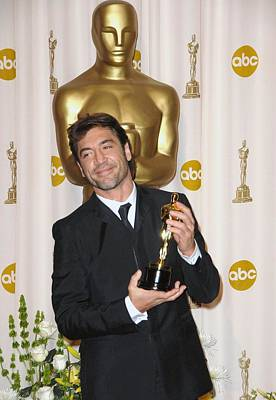 In The Press Room Photograph - Javier Bardem Winner, Best Supporting by Everett