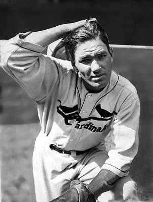 Baseball Uniform Photograph - Jay Hanna Dizzy Dean, 1910-1974 Ace by Everett
