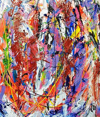 Painting - Jazz by Elf Evans