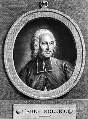 Jean-antoine Nollet, French Physicist Art Print by Science Source