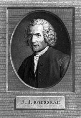 Jean-jacques Rousseau, Swiss Philosopher Art Print by Photo Researchers
