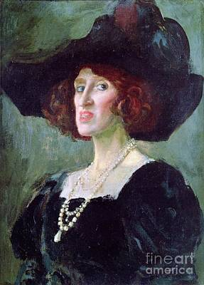 Hebuterne Painting - Jeanne Hebuterne by Pg Reproductions
