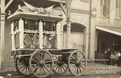 Jefferson Davis: Funeral Print by Granger