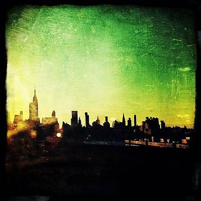 Urban Wall Art - Photograph - Jersey View Of Manhattan by Natasha Marco