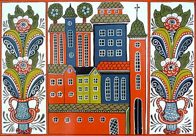 Jerusalem Art Print by Leif Sodergren