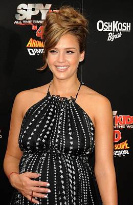 Jessica Alba Wall Art - Photograph - Jessica Alba At Arrivals For World by Everett