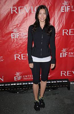At A Public Appearance Photograph - Jessica Biel At A Public Appearance by Everett