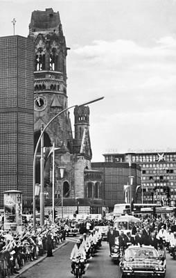 J.f.k. In Berlin, 1963 Art Print
