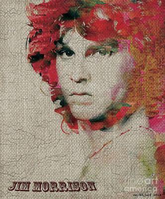 Jim Morrison Art Print by Max Cooper