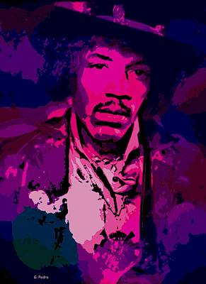 Photograph - Jimi by George Pedro