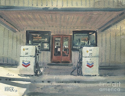 Country Store Painting - Jimtown Store by Donald Maier