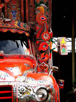 Photograph - Jingly Truck by Fareeha Khawaja