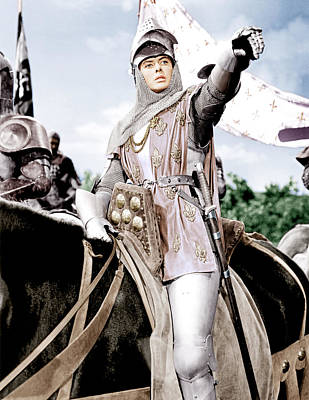 Joan Of Arc, Ingrid Bergman, 1948 Art Print