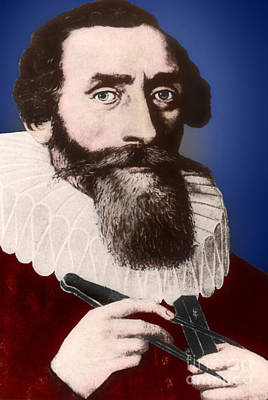Johannes Kepler, German Astronomer Art Print by Science Source