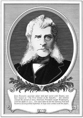 John Bigelow, American Diplomat Art Print by Photo Researchers