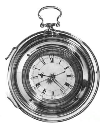 John Harrisons Last Marine Timepiece Art Print by Science Source