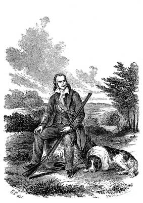 John James Audubon Art Print by Granger