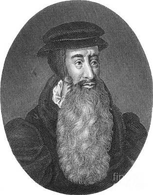 John Knox, Scottish Protestant Art Print by Photo Researchers