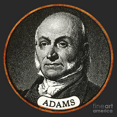 John Quincy Adams, 6th American Art Print by Photo Researchers