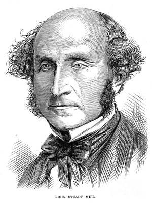 John Stuart Mill Art Print by Granger