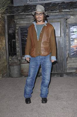 Johnny Depp Photograph - Johnny Depp At Arrivals For Rango by Everett