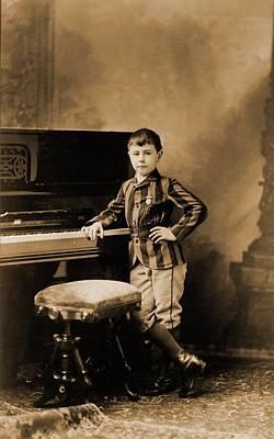Josef Hofmann 1876-1957, Child Prodigy Art Print by Everett