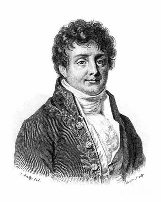 Fourier Photograph - Joseph Fourier (1768-1830) by Granger