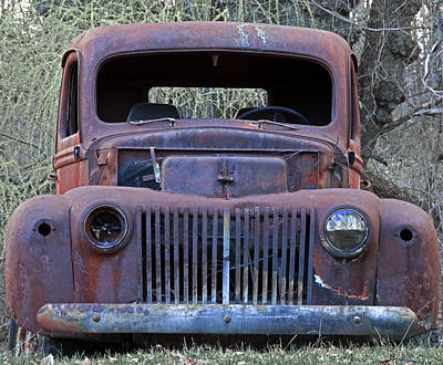 Photograph - Just Rusting by John Stephens
