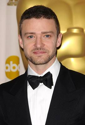 Justin Timberlake Photograph - Justin Timberlake In The Press Room by Everett