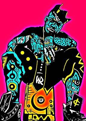 Popartist Digital Art - Kamoni Khem by Kamoni Khem