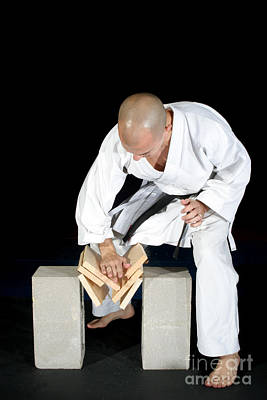 Marshal Arts Photograph - Karate by Ted Kinsman
