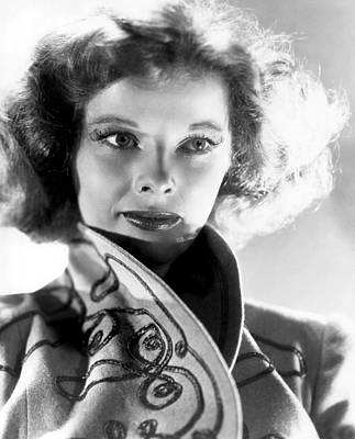 Katharine Hepburn In The 1930s Art Print