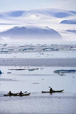 Modern Kitchen - Kayaking, Nunavut, Canada by Richard Wear