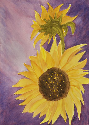 Mixed Media - Keep On The Sunny Side by Joan Zepf