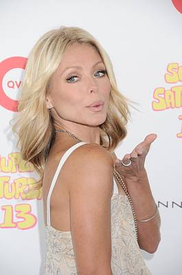 Kelly Ripa In Attendance For Super Art Print by Everett