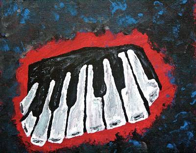 Painting - Keys by April Harker