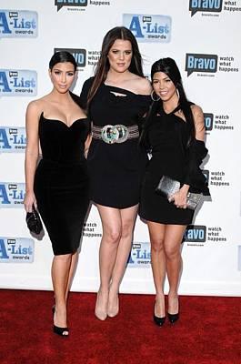 Bravos A-list Awards Photograph - Kim Kardashian, Khloe Kardashian by Everett