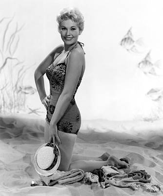 Kim Novak, Columbia Pictures, 1956 Art Print