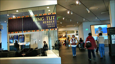 Photograph - King Tut Exhibit 2010 by Glenn Bautista