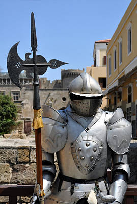 Knight Armor. Art Print by Fernando Barozza