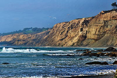 La Jolla Photograph - La Jolla Cliffs by Russ Harris