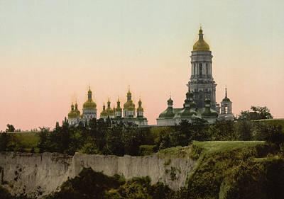 Kiev Photograph - La Lavra - Kiev - Ukraine - Ca 1900 by International  Images