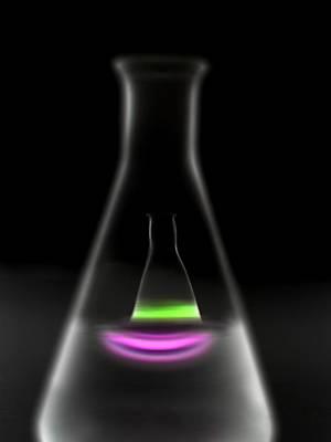 Photograph - Laboratory Glassware by Tek Image